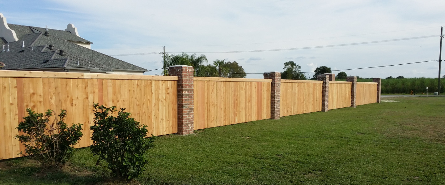 We are excited to offer wood fencing and gate installation in the Duson, Lafayette, and Youngsville, LA area
